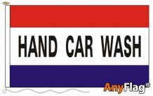 - HAND CAR WASH ANYFLAG RANGE - VARIOUS SIZES